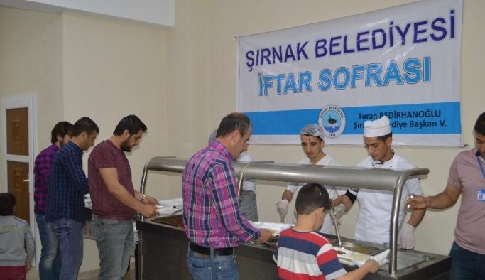 Şırnak'ta ilk iftar açıldı