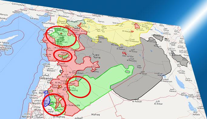 Suriye'de beklenen anlaşma yürürlüğe girdi