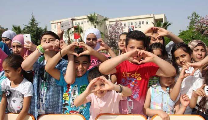 """Suriyeli yetimler için """"özel köy"""""""