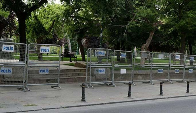 Taksim Meydanı'nda yoğun güvenlik önlemleri