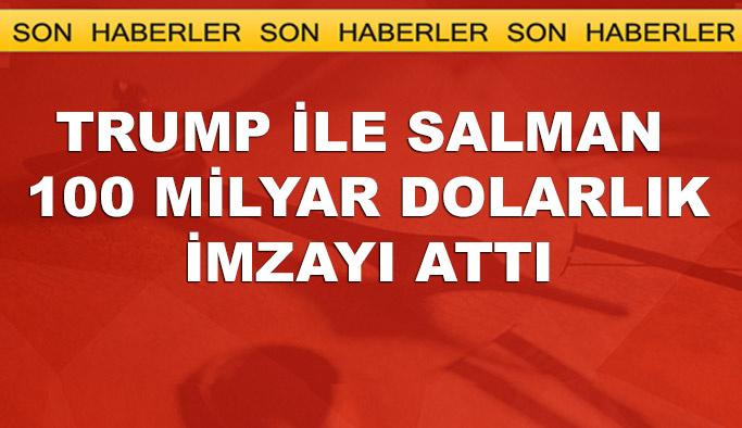 Trump, Suud'dan 100 milyar doları kopardı