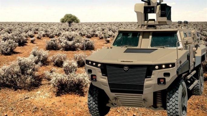 TÜMOSAN'dan yüzde 99 yerli zırhlı araç