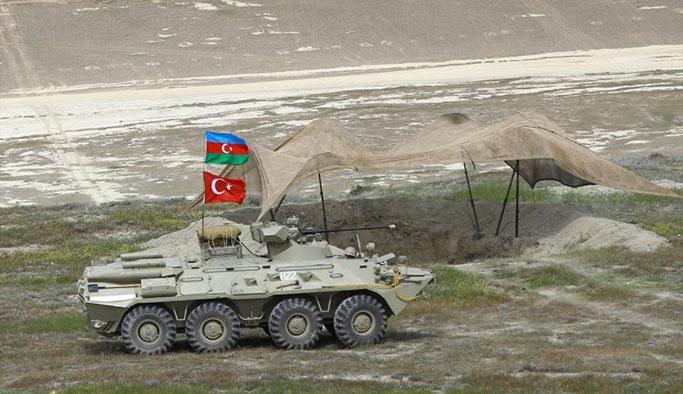 Türkiye-Azerbaycan'dan ortak askeri tatbikat