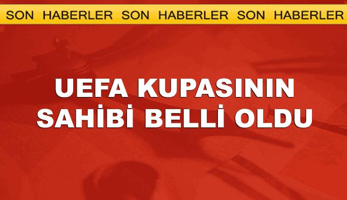 UEFA Kupasının sahibi belli oldu