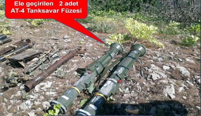 Uludere'de ABD füzeleri bulundu