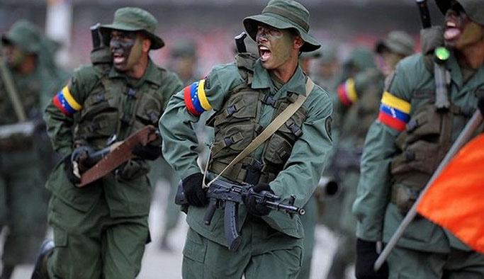 Venezuela'da 65 asker gözaltına alındı
