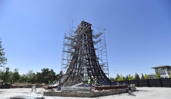 Ankara'ya 15 Temmuz anıtı
