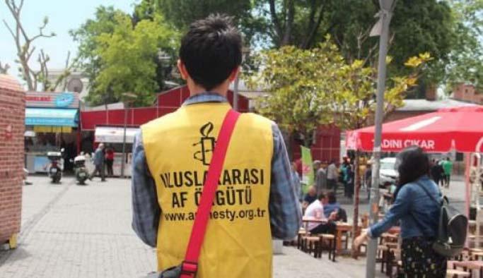 Af Örgütü'nün çalışanları 'taşeron işçi' çıktı