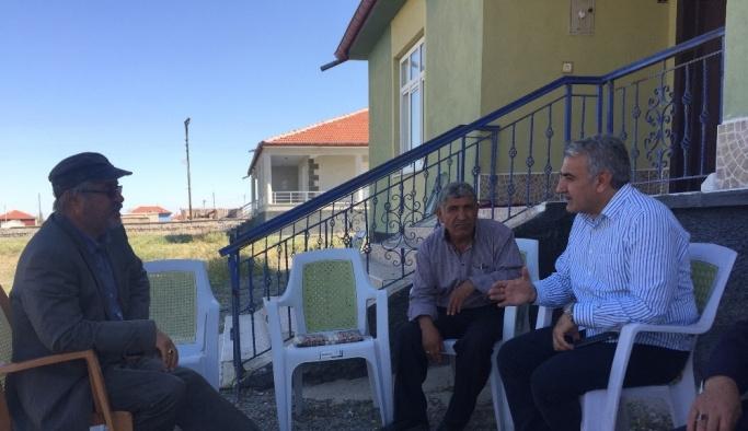 Ağralı'dan öldürülen 5 kişinin yakınlarına ziyaret