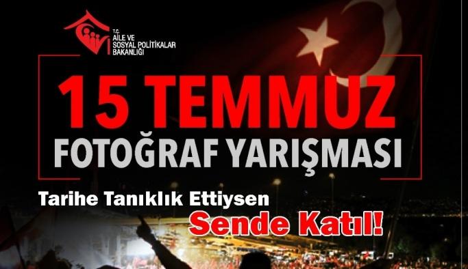 ASP Bakanlığı'ndan '15 Temmuz' konulu fotoğraf yarışması