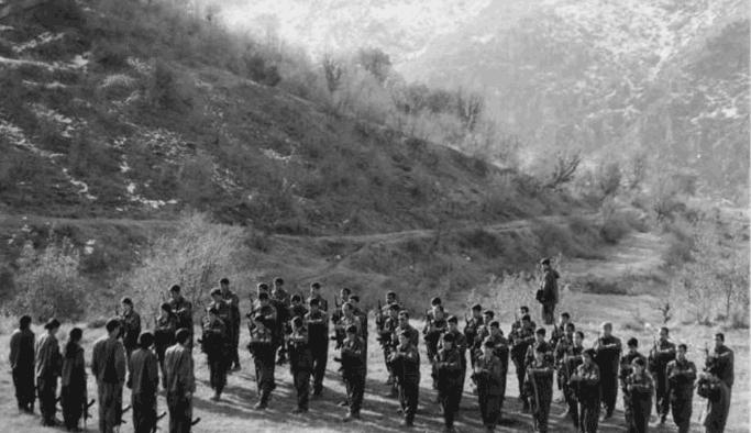 Avrupa'nın ortasında PKK kampı