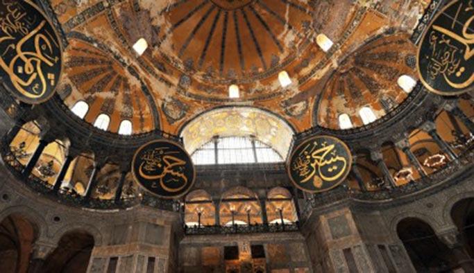 Ayasofya Camii'nde Kadir Gecesi