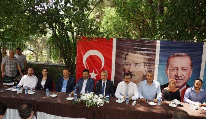 Aydın AK Parti bayramlaştı
