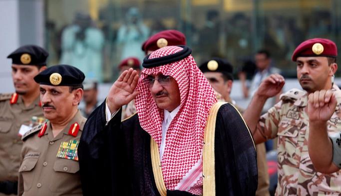 Azledilen Suudi veliaht Prens saray hapsinde