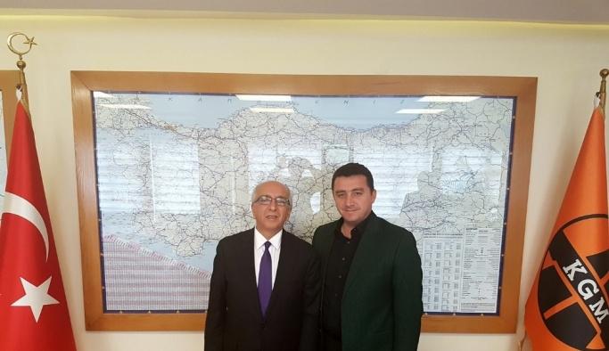 Başkan Bakıcı, Bursa Karayolları Bölge Müdürlüğü'nü ziyaret etti
