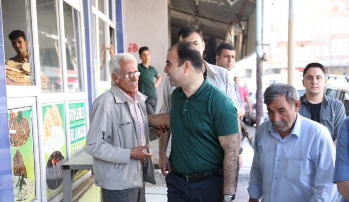 Belediye Başkanı Çiftçi Suruç esnafıyla buluştu