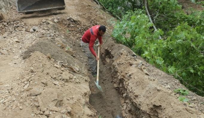 Burhaniye'de Düdüklü Suyu daha bol akacak