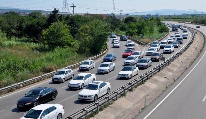 Bursa'da bayram tatili sonrası dönüş yoğunluğu