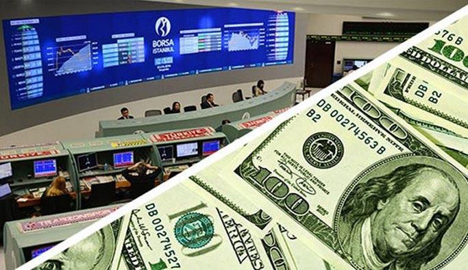 Dolarda düşüş, borsada yükseliş rekoru