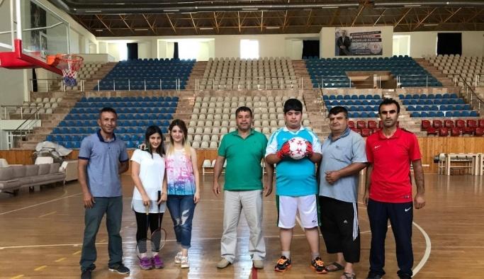 Engelli çocuklar için yaz spor okulu
