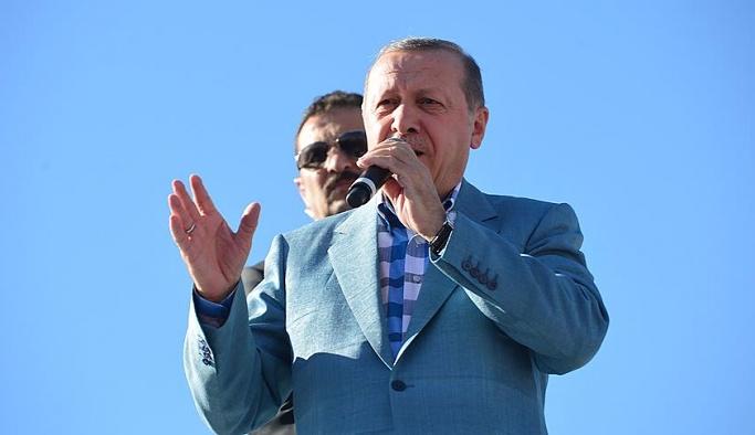 Erdoğan'dan PYD'ye: Arkanızda kim olursa olsun, asla müsaade etmeyiz