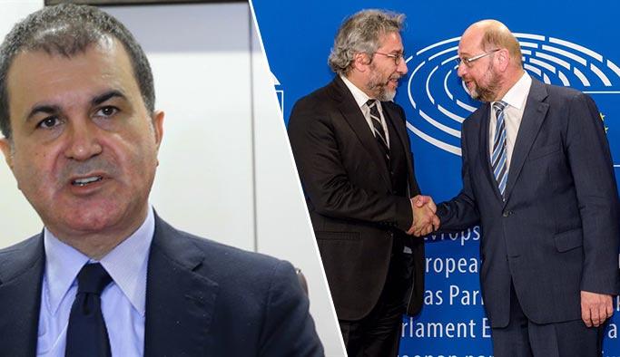 Erdoğan düşmanı Schulz'a Türkiye'den kınama üstüne kınama