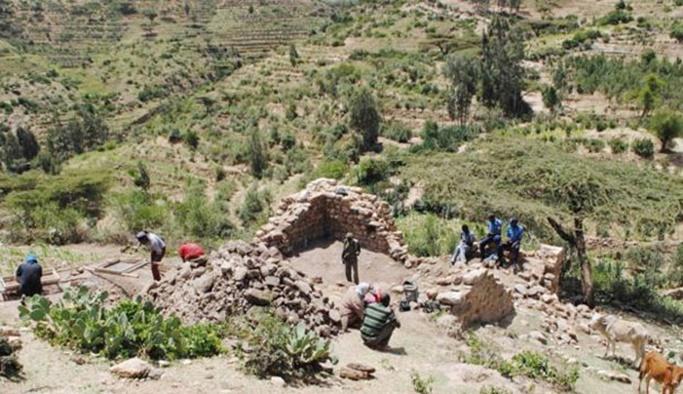 Etiyopya'da bin yıllık kayıp şehir bulundu