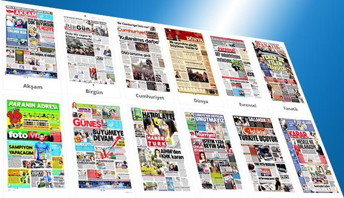 Gazetelerin bugünkü manşetleri 13 Haziran 2017