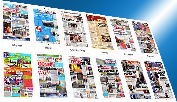 Gazetelerin bugünkü manşetleri 15 Haziran 2017