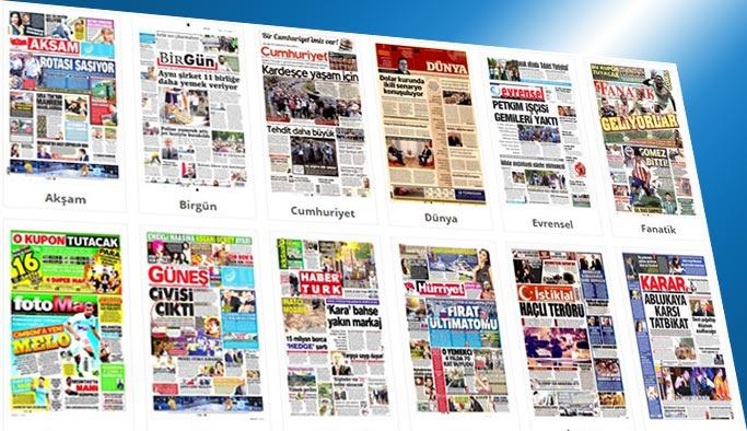 Gazetelerin bugünkü manşetleri 20 Haziran 2017