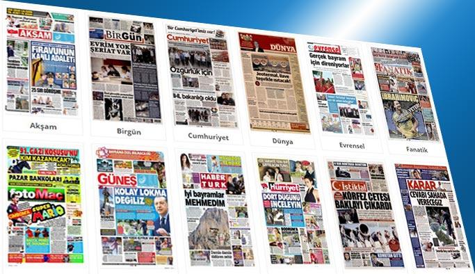 Gazetelerin bugünkü manşetleri 25 Haziran 2017