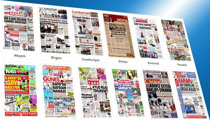 Gazetelerin bugünkü manşetleri 26 Haziran 2017