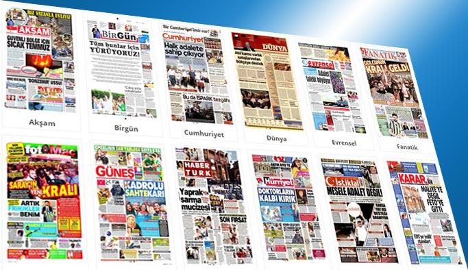 Gazetelerin bugünkü manşetleri 29 Haziran 2017