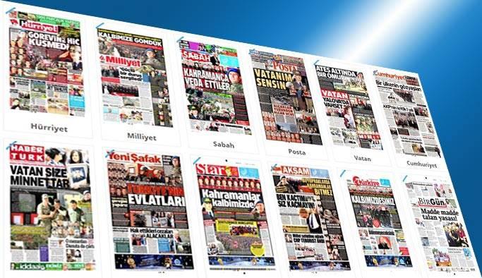 Gazetelerin bugünkü manşetleri 2 Haziran 2017