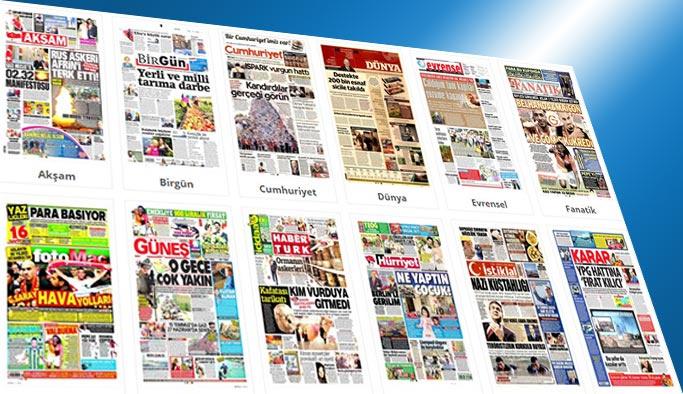 Gazetelerin bugünkü manşetleri 30 Haziran 2017