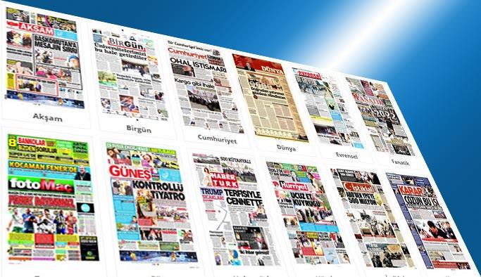 Gazetelerin bugünkü manşetleri 3 Haziran 2017