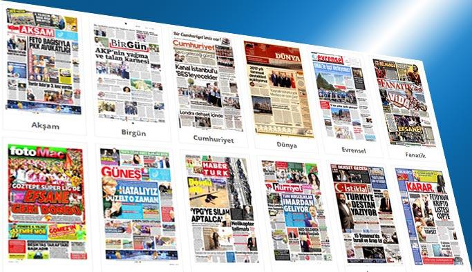 Gazetelerin bugünkü manşetleri 5 Haziran 2017