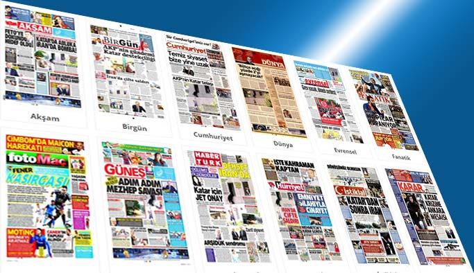 Gazetelerin bugünkü manşetleri 8 Haziran 2017