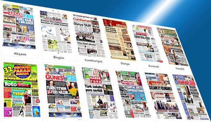 Gazetelerin bugünkü manşetleri 9 Haziran 2017