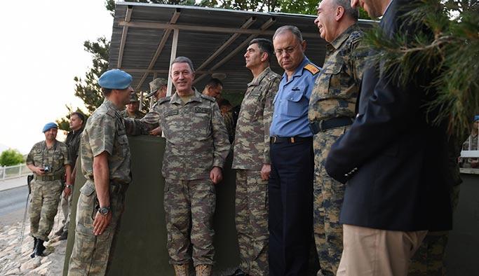 Genelkurmay Başkanı Akar bayrama Siirt'te girdi