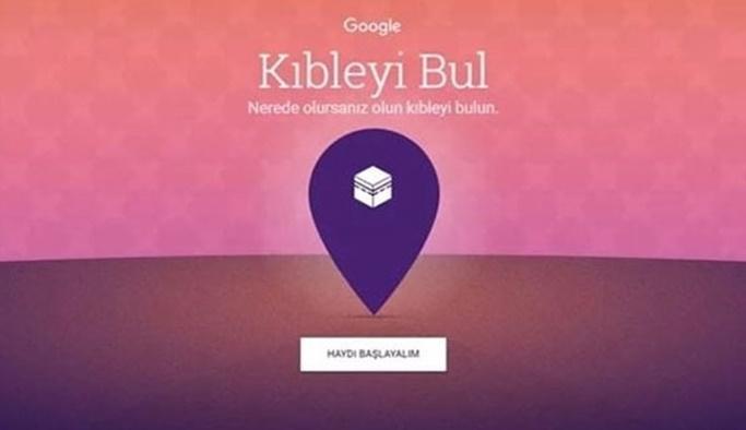 Google'dan kıble bulma uygulaması!