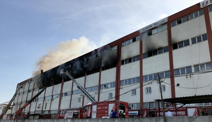 GÜNCELLEME - Arnavutköy'de mobilya atölyesinde yangın