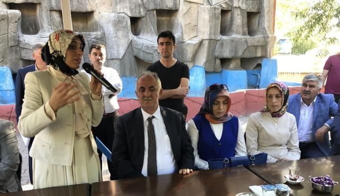 Horasan'da belediyenin bayramlaşma programı