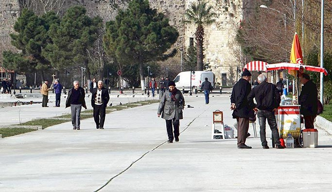 İstanbul'da her 10 kişiden biri emekli