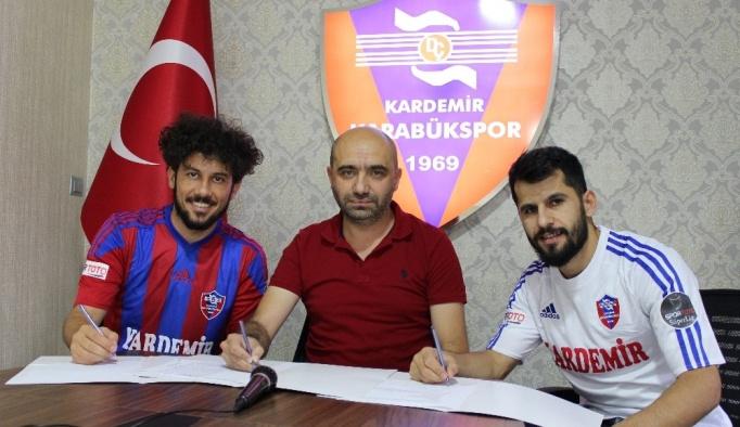 Karabükspor, iç transferde 2 oyuncu ile sözleşme imzaladı
