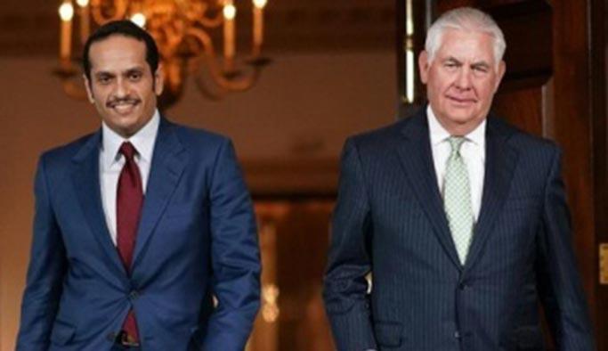 Katar'dan ABD'ye kritik ziyaret