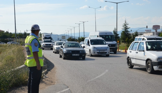 Kırıkkale Kavşağı'ndan günde 80 bin araç geçiş yapıyor