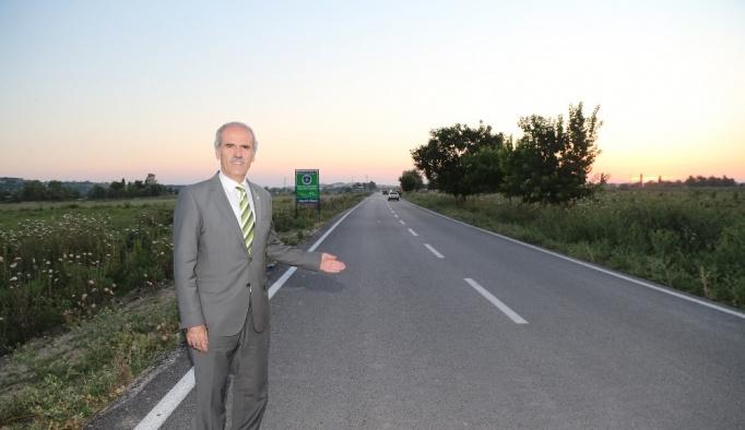Köy yollarına Büyükşehir eli