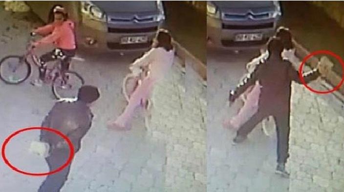 Küçük kıza taşla vuran zanlıyla ilgili yeni gelişme