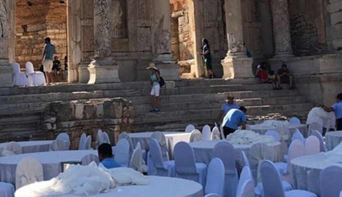 Kültür Bakanlığı Antik Kent'de düğün haberlerini yalanladı
